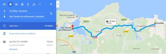 Comillas - San Vicente