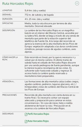 Ruta Horcados Rojos (Fuente De)