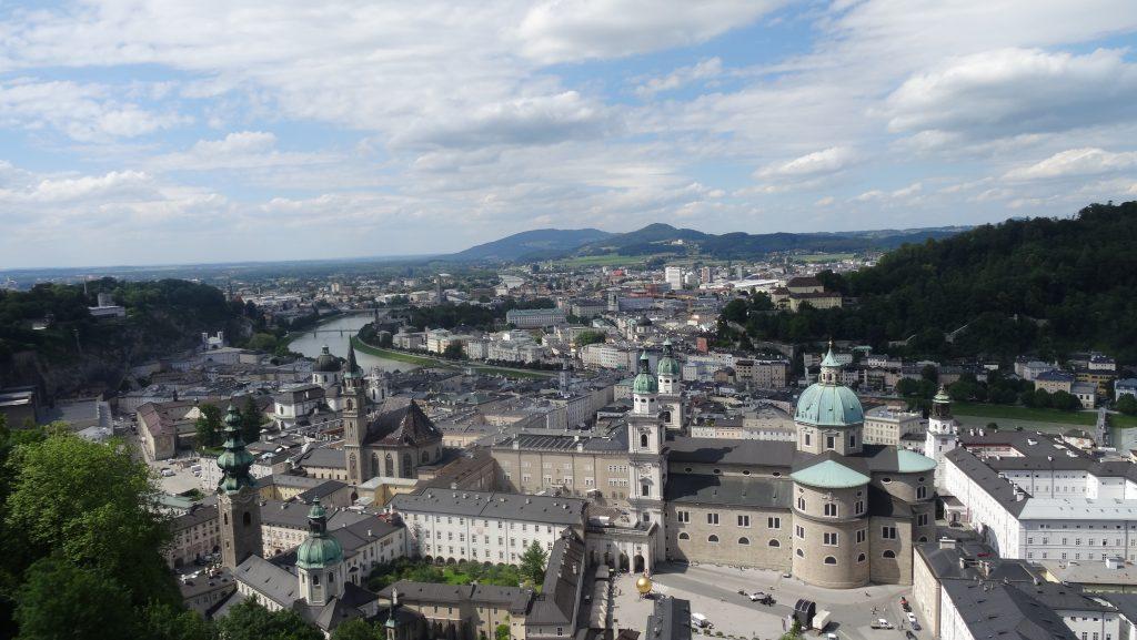Vistas desde la Fortaleza Hohensalzburg