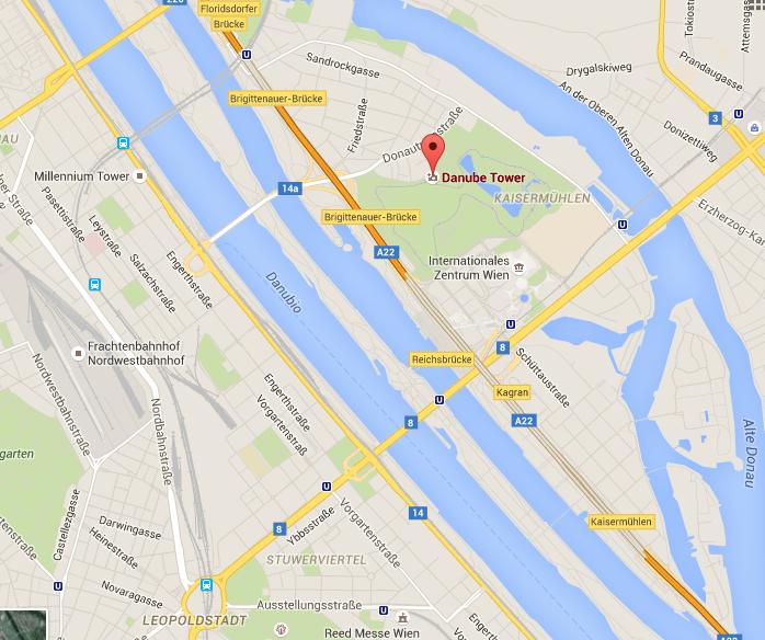 Danubio y Torre Danubio