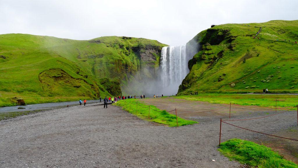 Cascada Skógafoss (Islandia)