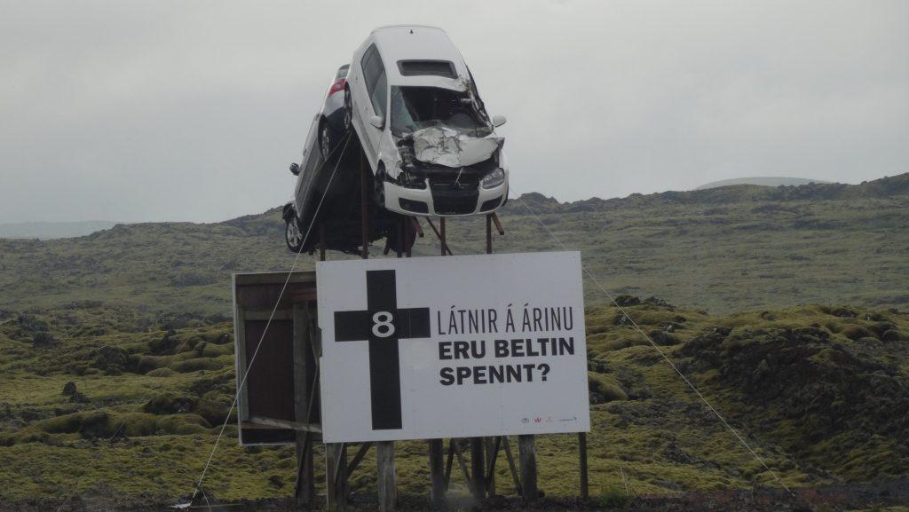 Muertos en carretera en Islandia