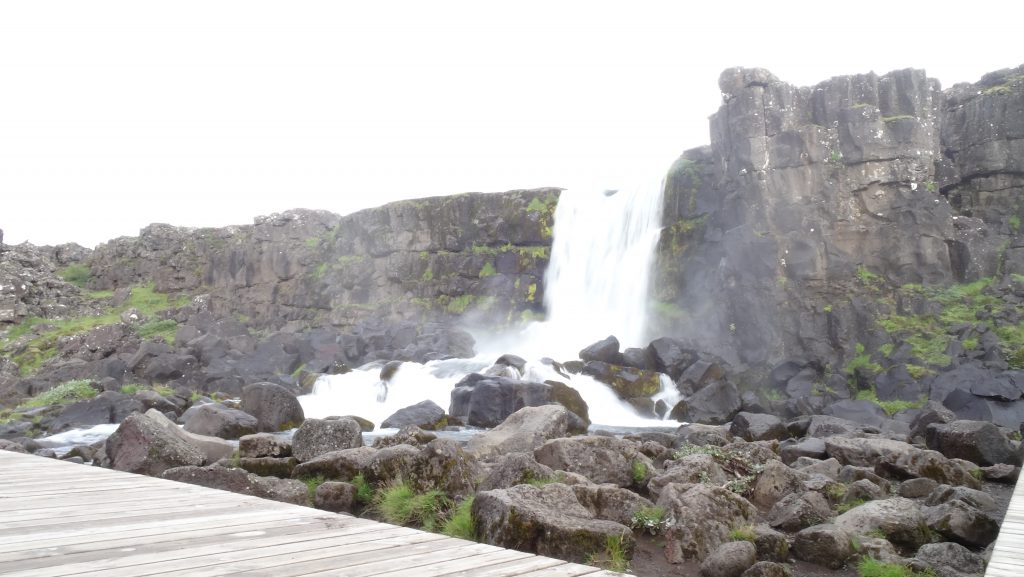 Cascada Öxararfoss (Islandia)