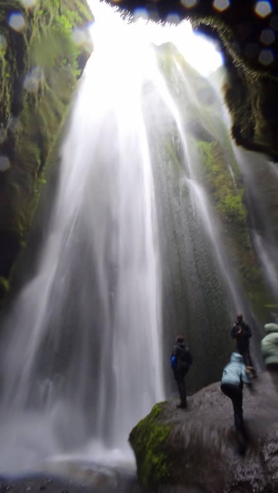 Cascada Gljúfrabui (Islandia)