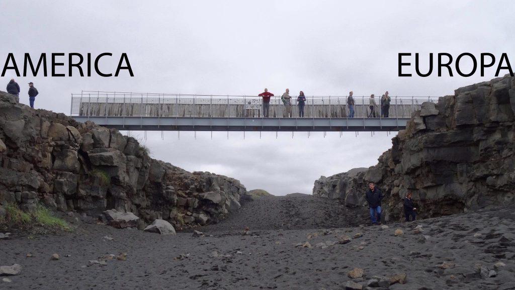 Puente entre Europa y America (Islandia)