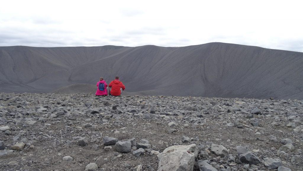Cráter Hverfell (Islandia)