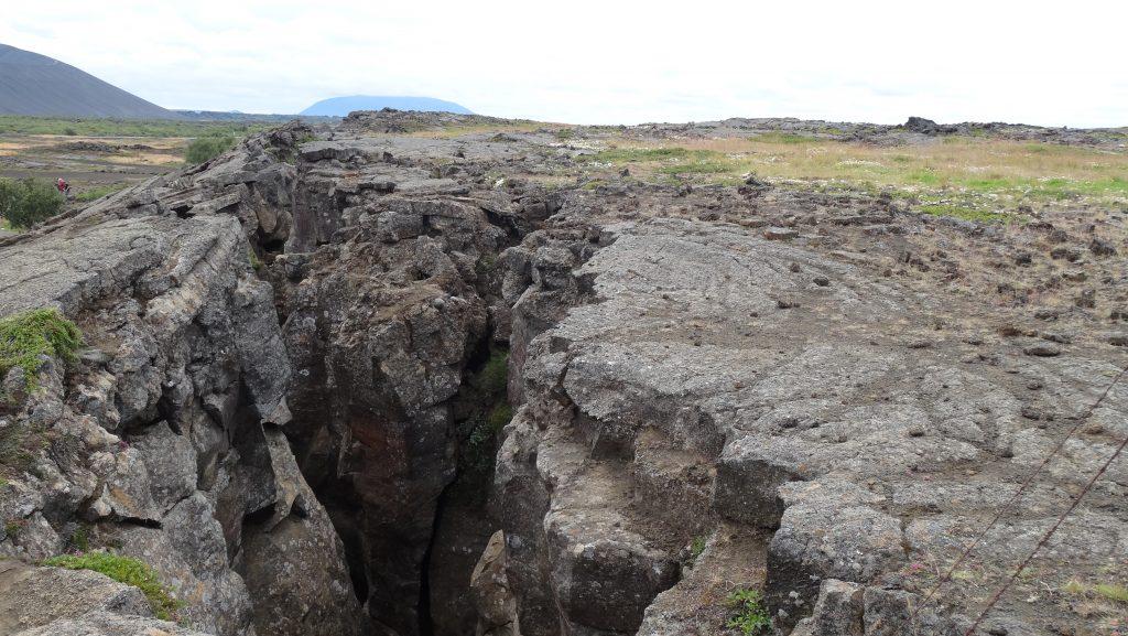 Grieta cueva Grjótagjá (Islandia)