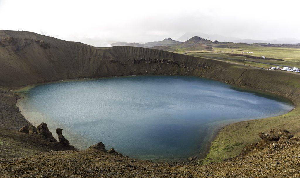Cráter del Viti, Kafla (Islandia)
