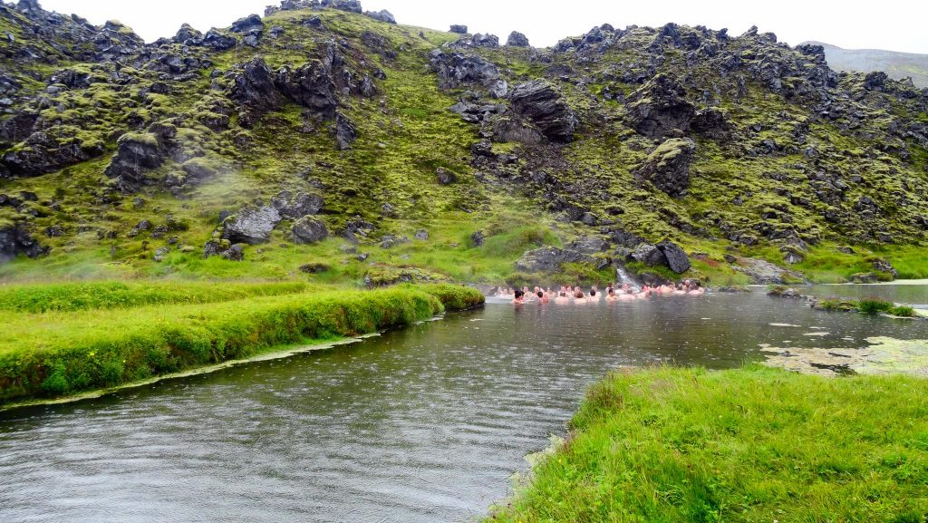 Piscina Natural en Landmannalaugar (Islandia)