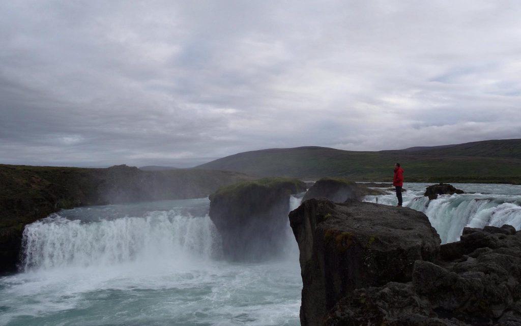 Cascada Goðafoss (Islandia)