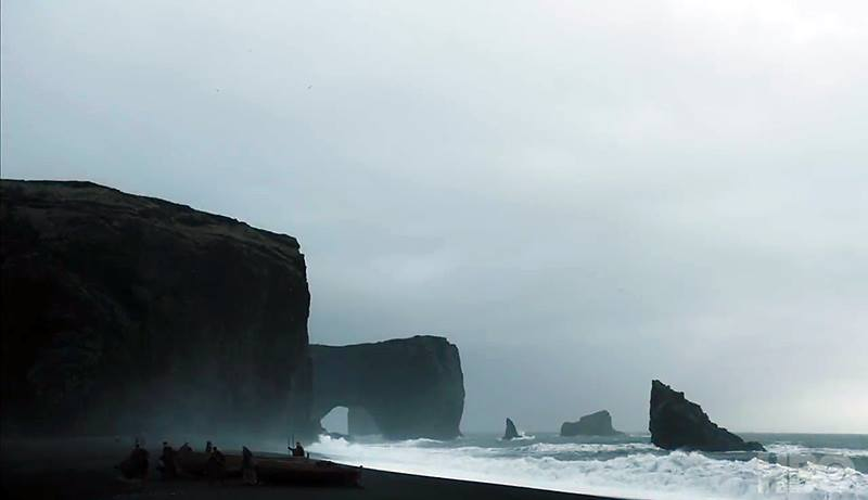 """Game of thrones (Iceland)"" en la Temporada 7 - Episodio 5 - Playa negra de Vik"