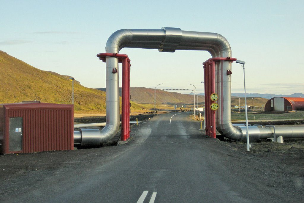 Central Geotérmica Kroflustod (Islandia)