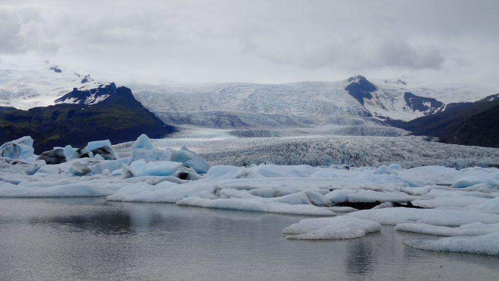 Laguna Glacial Fjallsárlón (Islandia)