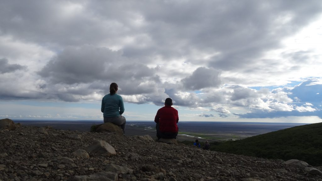 Vistas desde Svartifoss (Islandia)