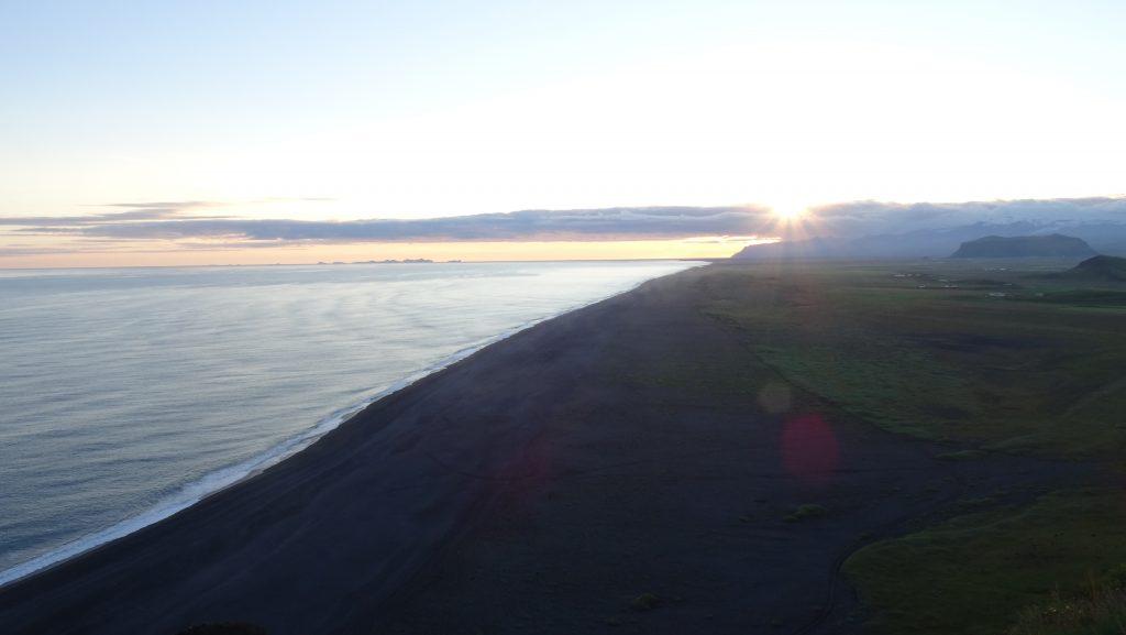 Acantilado Dyrholaey (Islandia)