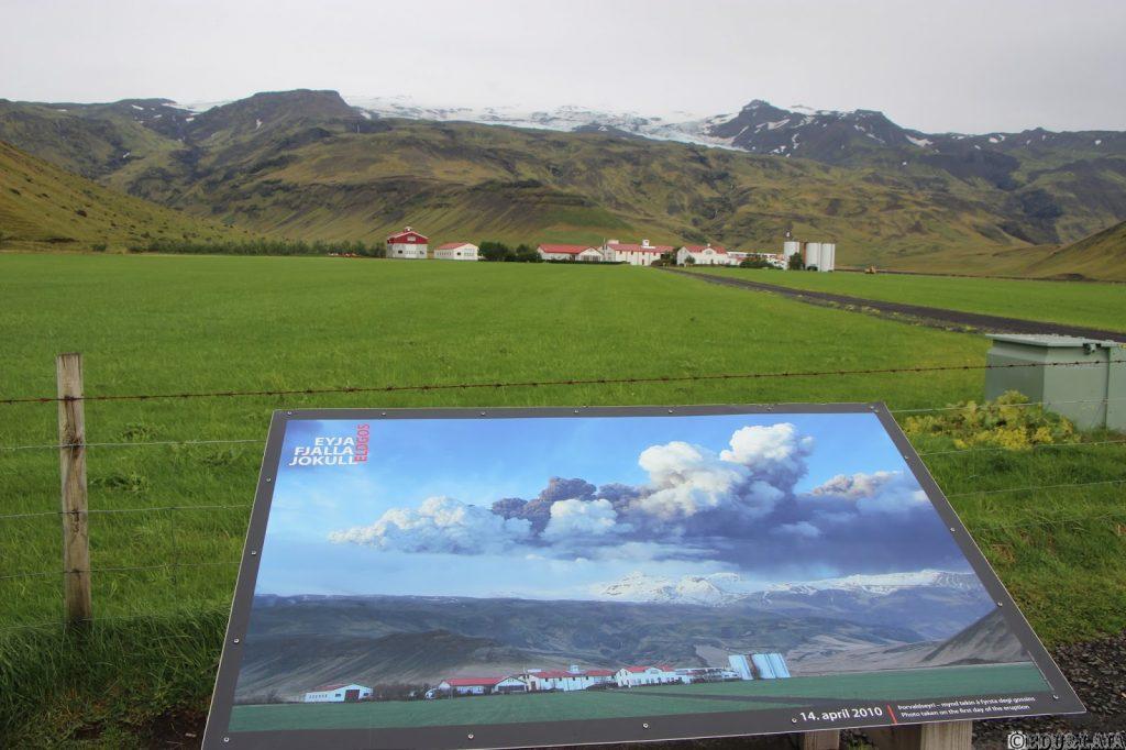 Mirador Eyjafjallajökull (Islandia)
