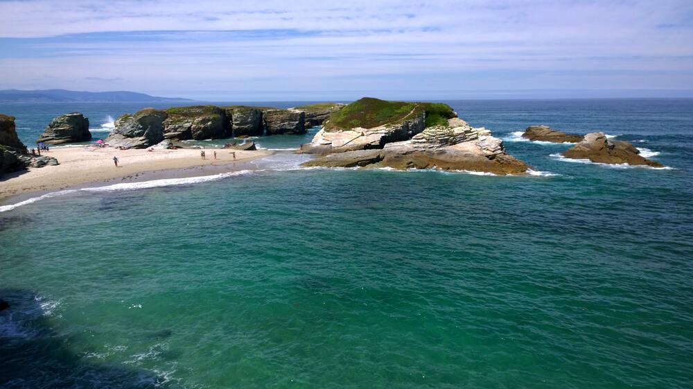Playa As Illas (Lugo)